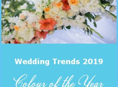 Wedding Trends 2019 – Colour of the Year
