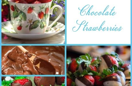 Chocolate Strawberries – St. Valentine's DIY