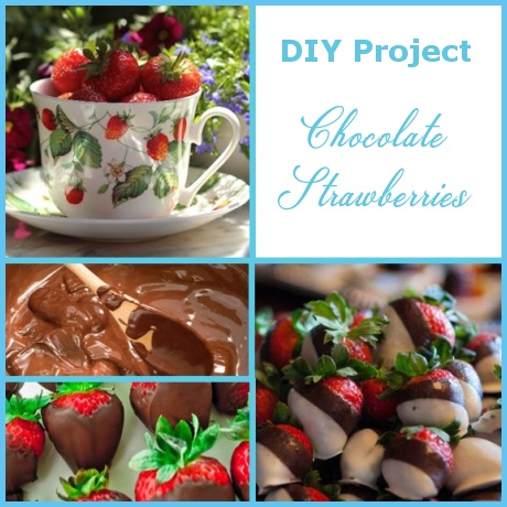 Chocolate Strawberries – St. Valentine's DIY