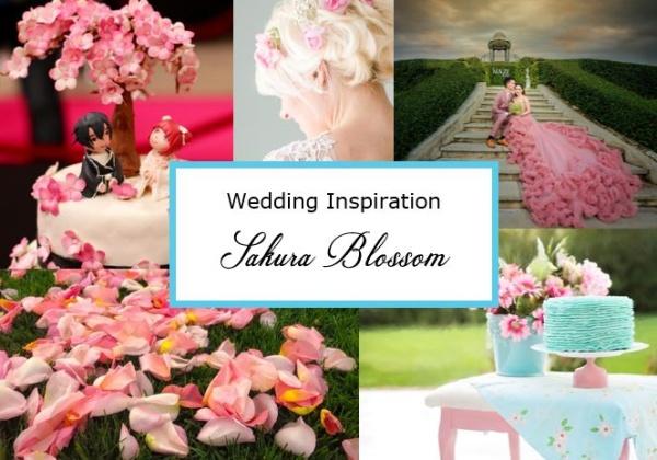 Sakura Blossom Wedding Theme