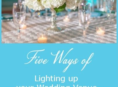Five Ways of Lighting Up Your Wedding Venue with Candles