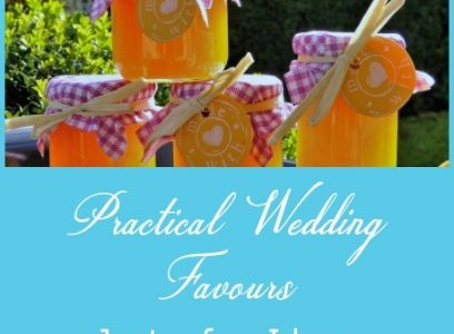 Practical Wedding Favours – Just a Few Ideas