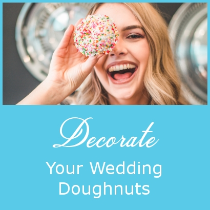 Decorate Your Wedding Doughnuts