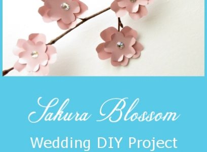 Sakura Blossom – Wedding DIY Project