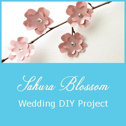 Sakura Blossom – Wedding DIY Project
