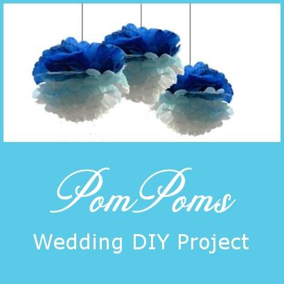 PomPoms – Wedding DIY Project