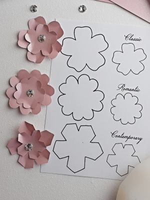 Sakura Blossom (with Diamantes) Craft Kit