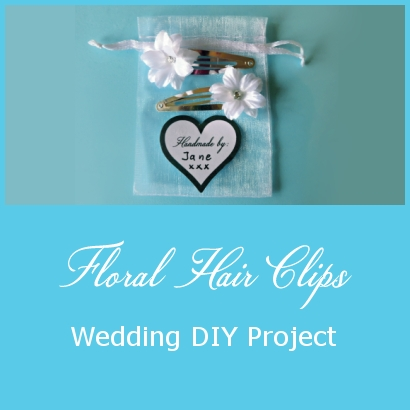 Hair Clips – Wedding DIY Project