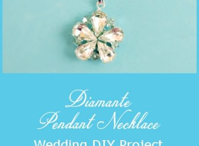 Diamante Necklace – Wedding DIY Project