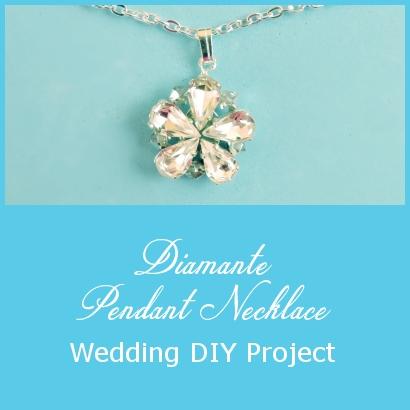 Diamante Necklace – Wedding DIY Project