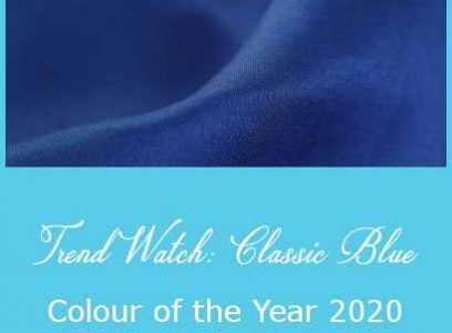 Trend Watch: Classic Blue – Colour of the Year 2020