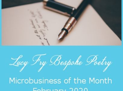 Microbusiness of the Month – Lucy Fry Bespoke Poetry – February 2020