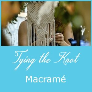 Blog post cover - Macrame Technique