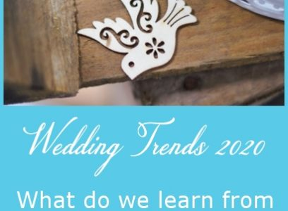 Wedding Trends 2020 – What do we learn from Pinterest 100 Report?