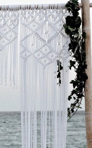 Wedding Inspiration - Macrame Decoration