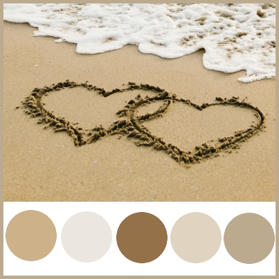 Wedding Colour Theme - Sand