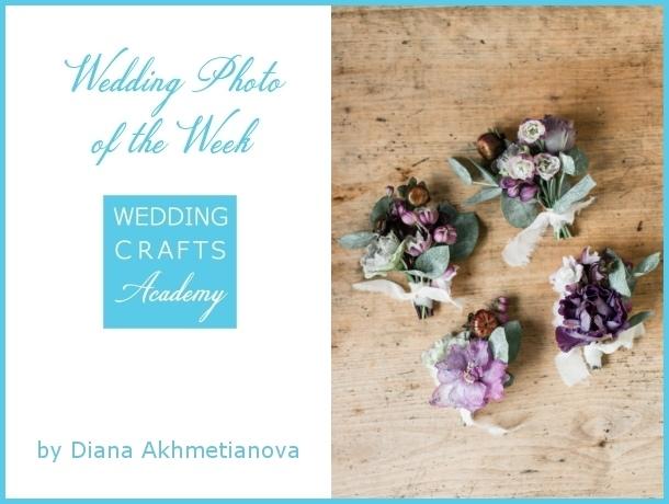 Wedding Photo of the Week at Wedding Crafts Academy
