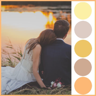 Colour Palettes – Wedding Inspiration