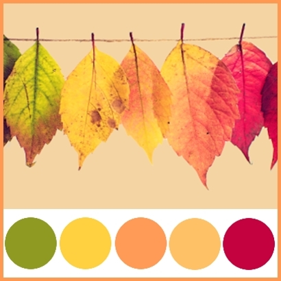 Wedding Colour Theme - Autumn