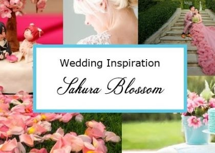 Wedding Style inspired by Sakura Blossom