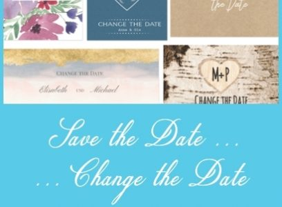 Save the Date / Change the Date