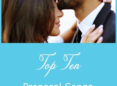 Top Ten Proposal Songs