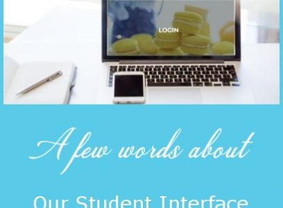A few Words about our Student Interface