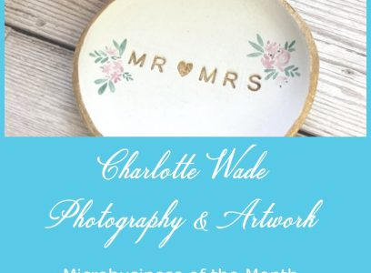 Microbusiness of the Month – Charlotte Wade – August 2020