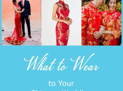 What to Wear to Your Chinese Wedding