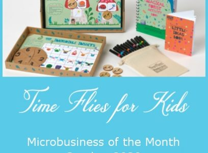 Time Flies for Kids – Microbusiness of the Month – October 2020