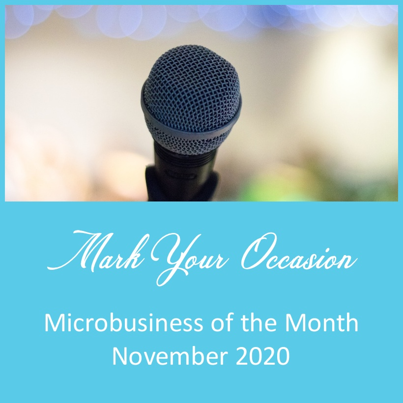 Microbusiness of the Month – November 2020